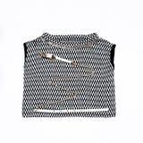 De T-shirt van modieuze vrouwen Stock Afbeeldingen