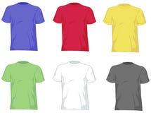 De t-shirts van de mens Stock Afbeelding