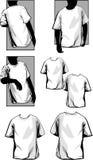 De T-shirts van Mens Royalty-vrije Stock Foto's