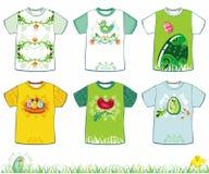 De t-shirts van Pasen stock illustratie