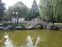 de taal van Peking en cultutal universiteit stock afbeelding