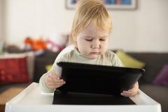 De tablet van de babylezing Royalty-vrije Stock Afbeelding