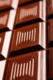 De tablet van de chocolade Stock Foto