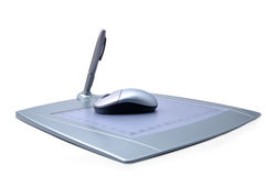 De tablet van de pen Stock Fotografie
