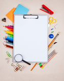 De tablet van document Royalty-vrije Stock Afbeelding