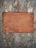De tablet van een oud karton Stock Foto