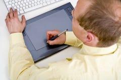 De Tablet van Grapic Royalty-vrije Stock Fotografie
