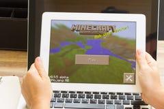 De tablet van Ipad van de appel Stock Afbeeldingen