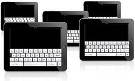 De tabletcomputer van Ipad Stock Afbeelding