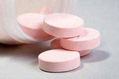 De tabletten van de glucose Stock Foto