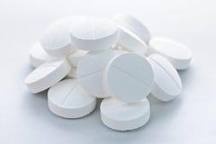 De tabletten van het calcium royalty-vrije stock afbeelding