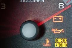 De tachometer van de auto Stock Afbeelding