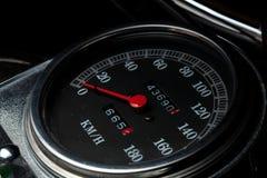 De tachometer van de motorfiets Royalty-vrije Stock Afbeeldingen