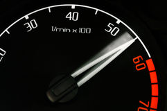 De tachometer van de revolutie Stock Fotografie