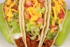 De taco's van het rundvlees Stock Afbeelding