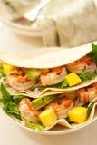 De Taco van garnalen Royalty-vrije Stock Afbeelding