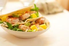 De Taco van garnalen Royalty-vrije Stock Foto's