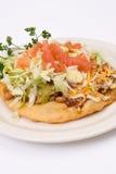 De taco van Pueblo stock afbeeldingen