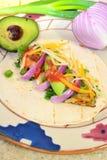 De Taco van vissen Royalty-vrije Stock Foto's