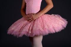De taille van de ballerina Royalty-vrije Stock Foto's