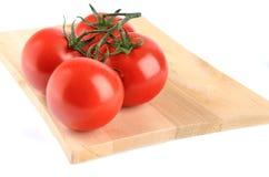 De tak van de tomatenkers op witte achtergrond wordt geïsoleerd die Stock Foto's
