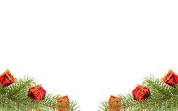 De tak van Kerstmis Stock Foto