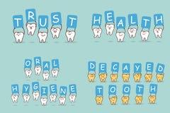 De tand neemt aanplakbord vector illustratie