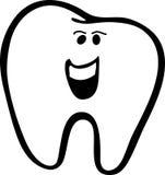 De tand van de jongen Royalty-vrije Illustratie