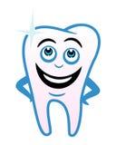 De tand van het beeldverhaal Stock Fotografie