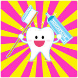 De tand van Smiley Royalty-vrije Stock Foto