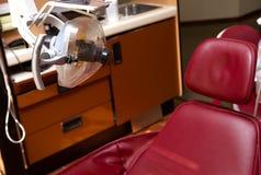 De tand verzekering van de stoeltandarts Stock Afbeelding