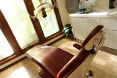 De tand verzekering van de stoeltandarts Stock Foto's