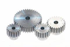 De tand-wielen van het metaal, Stock Afbeeldingen