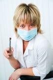 De tandarts Royalty-vrije Stock Afbeeldingen
