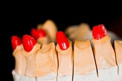 De tandtechnici werken Stock Foto's