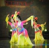 De Tang Dynasty-de paleismuziek en dans Stock Foto