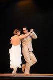 De tango van Argentinië Stock Foto's