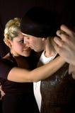 De tango van het paar Royalty-vrije Stock Afbeelding
