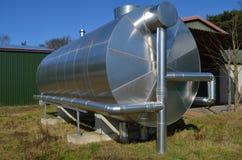 De tank van de biogasopslag Royalty-vrije Stock Foto