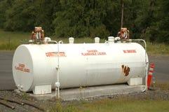 De tank van de brandstof stock afbeelding