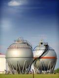 De tank van de brandstof stock afbeeldingen