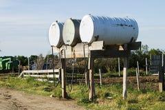 De Tank van de brandstof Stock Foto's