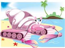 De Tank van de krab Stock Foto's