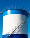 De tank van de olie Stock Foto