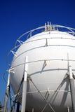 De tank van de olie Stock Afbeelding