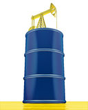 De tank van de olie Royalty-vrije Stock Foto