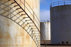 De tank van de olie Royalty-vrije Stock Afbeelding