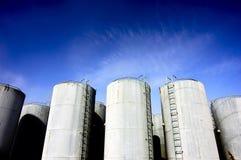 De tank van de olie Stock Fotografie