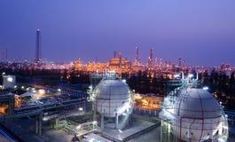 De tank van de opslaggebieden van het gas Royalty-vrije Stock Fotografie