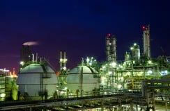 De tank van de opslaggebieden van het gas Royalty-vrije Stock Afbeeldingen